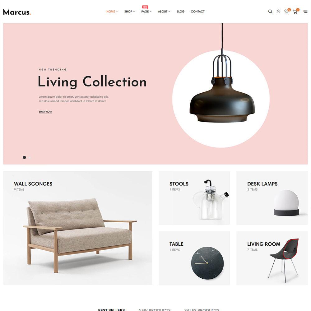 theme - Art & Culture - Marcus - Furniture & Home Decor - 1