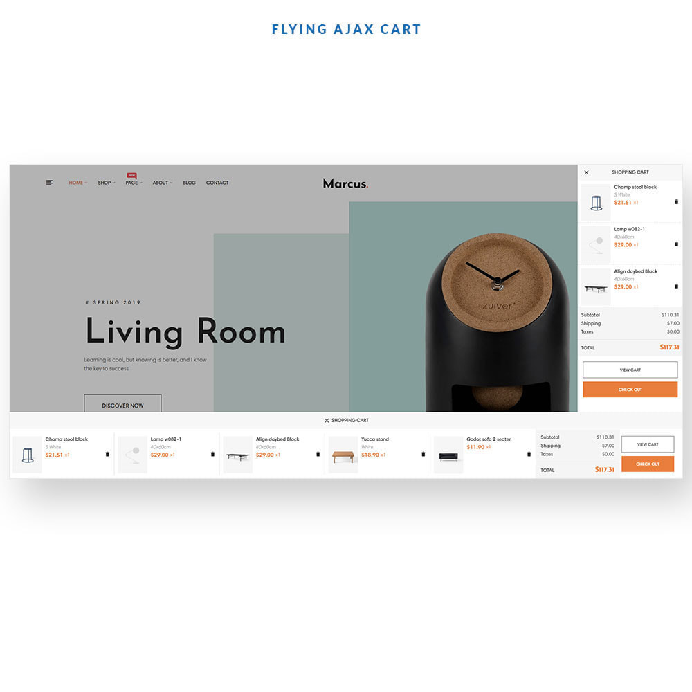 theme - Arte e Cultura - Marcus - Furniture & Home Decor - 6