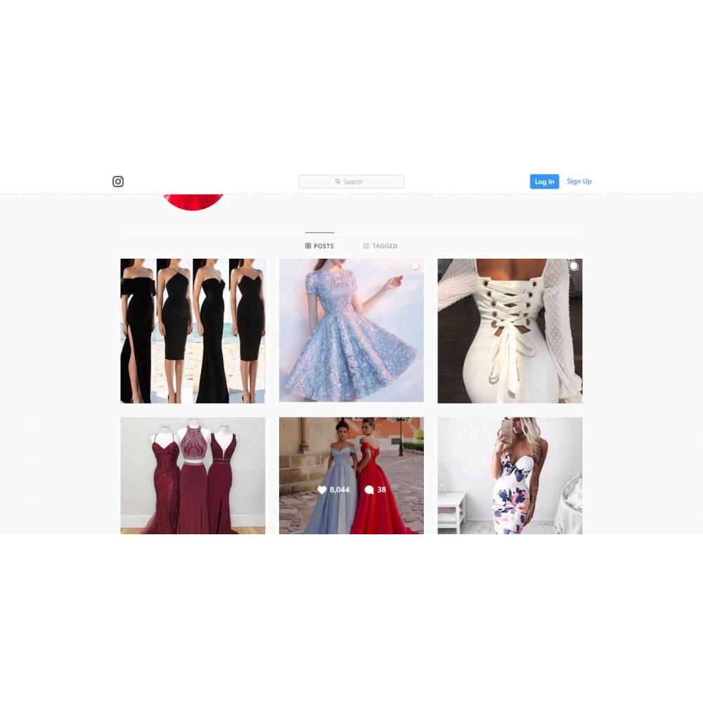 module - Sliders & Galerias - Instagram New API  Feed  -  Carousel - 4