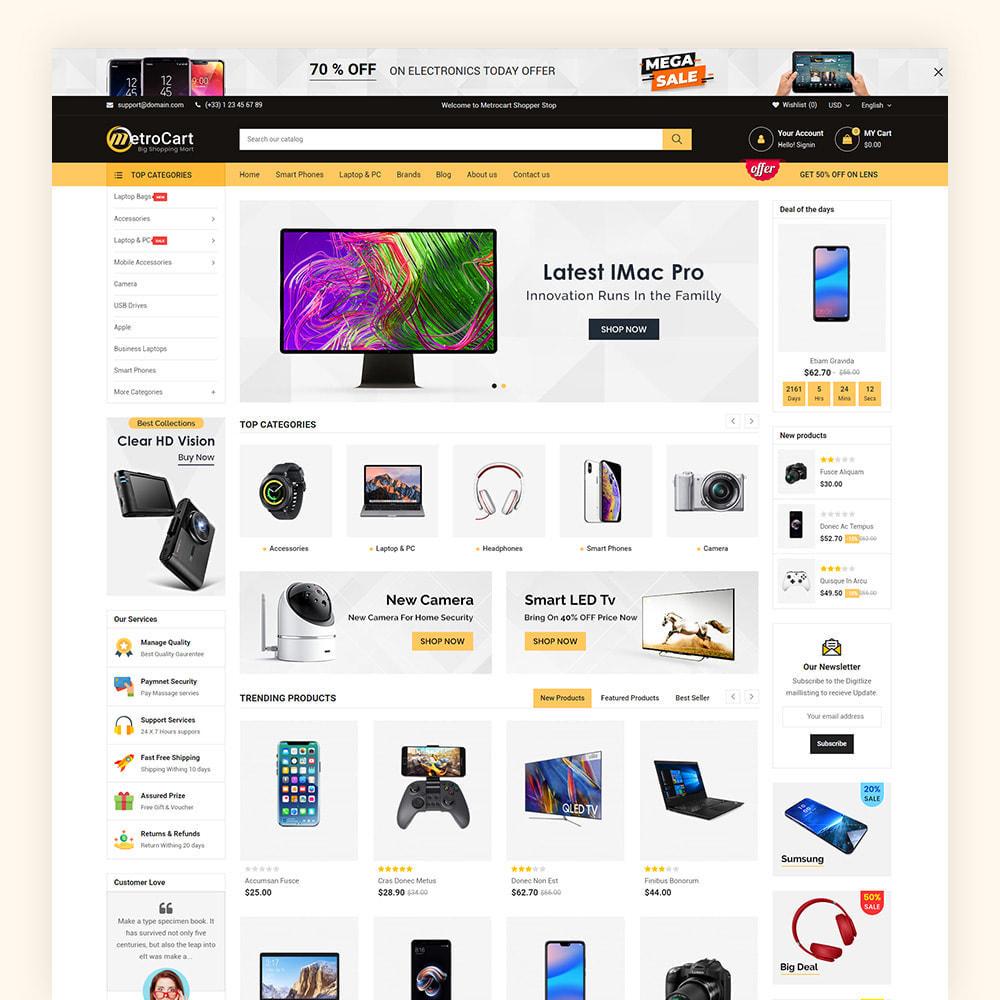 theme - Eletrônicos & High Tech - Metrocart Mega Electronics Store - 2
