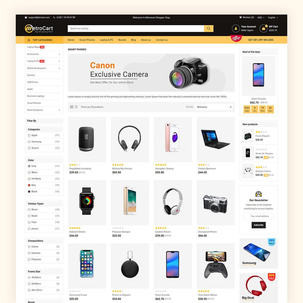 theme - Eletrônicos & High Tech - Metrocart Mega Electronics Store - 5