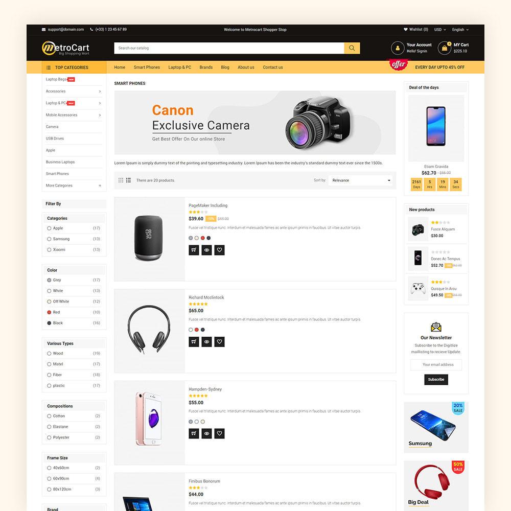 theme - Eletrônicos & High Tech - Metrocart Mega Electronics Store - 6