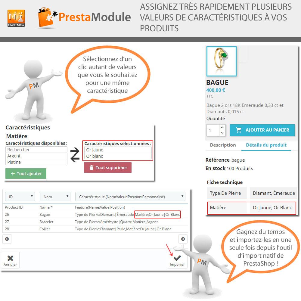 module - Recherche & Filtres - Multiple Features - Caractéristiques sans limite - 2