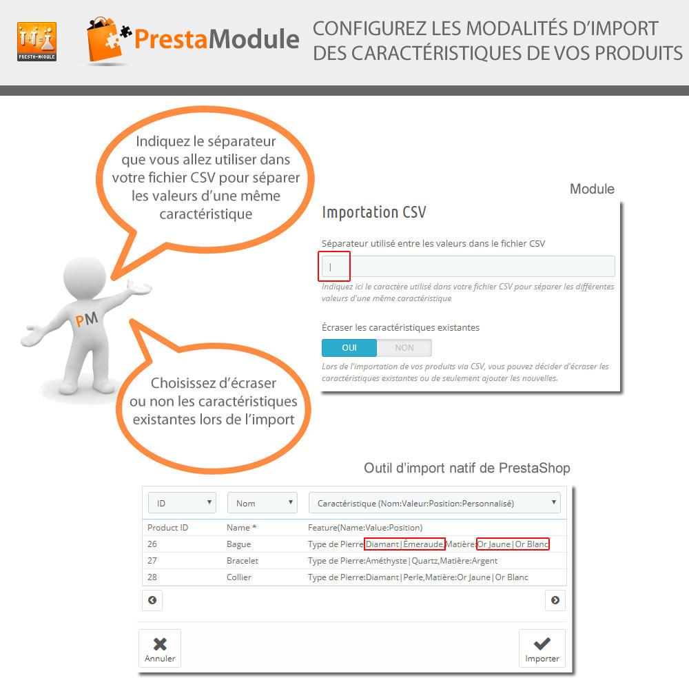module - Recherche & Filtres - Multiple Features - Caractéristiques sans limite - 5