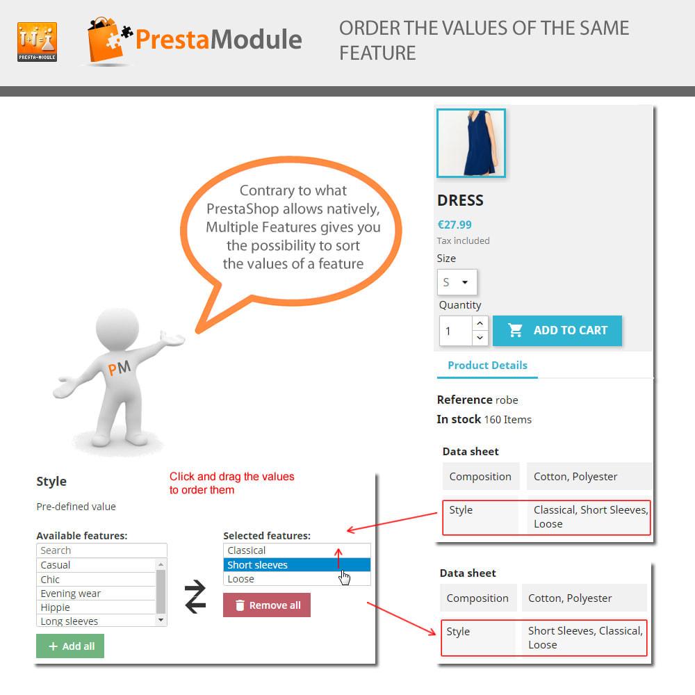 module - Suche & Filter - Multiple Features+Import Unbegrenzt Merkmale hinzufügen - 3