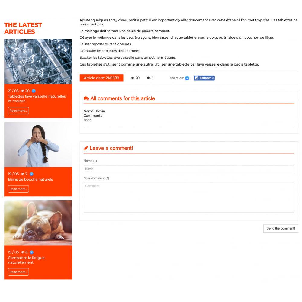 module - Blog, Forum & News - Presta Blog - 4