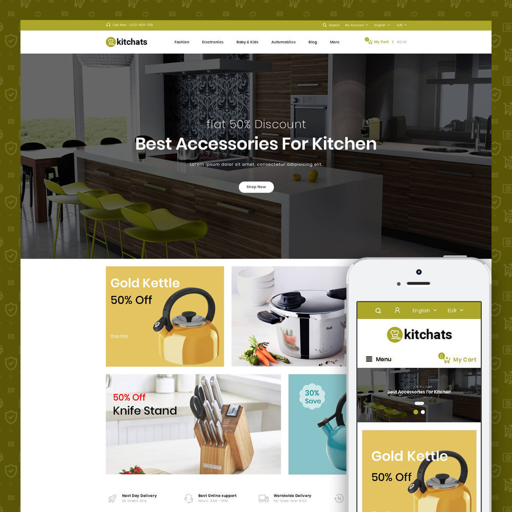 theme - Dom & Ogród - Kitchats - Kitchen Accessories Store - 1