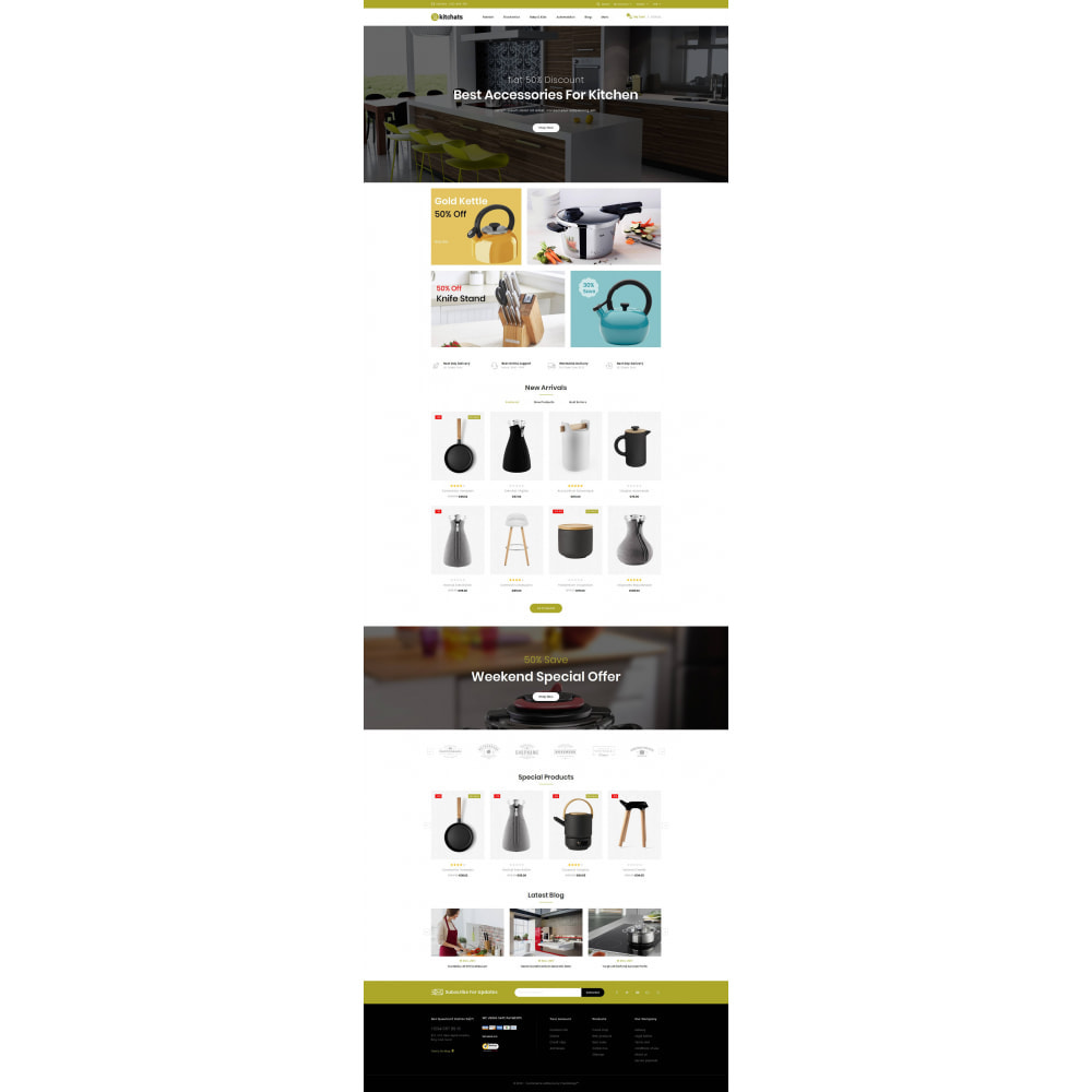 theme - Dom & Ogród - Kitchats - Kitchen Accessories Store - 2