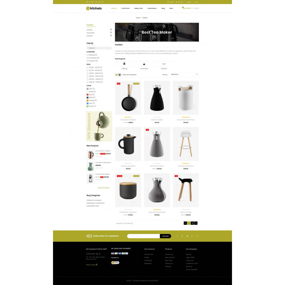 theme - Dom & Ogród - Kitchats - Kitchen Accessories Store - 3