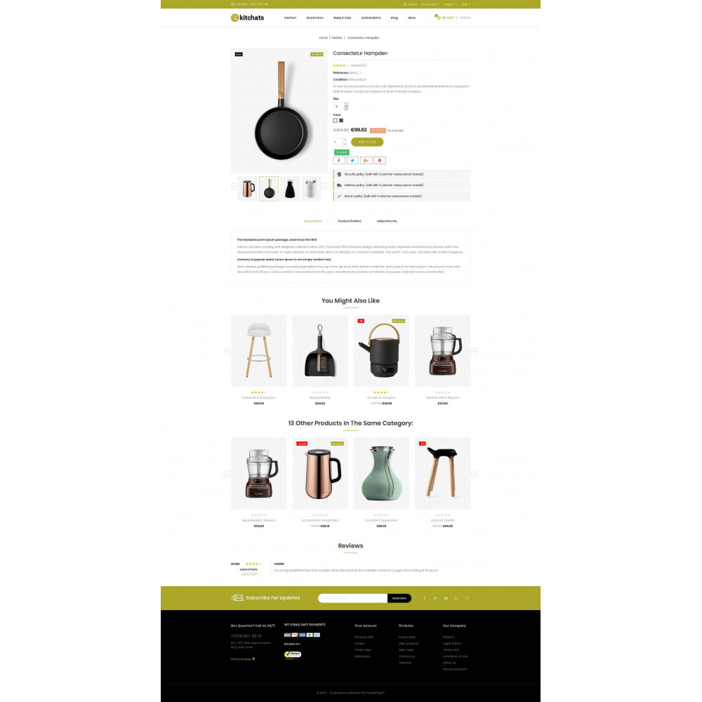 theme - Dom & Ogród - Kitchats - Kitchen Accessories Store - 5
