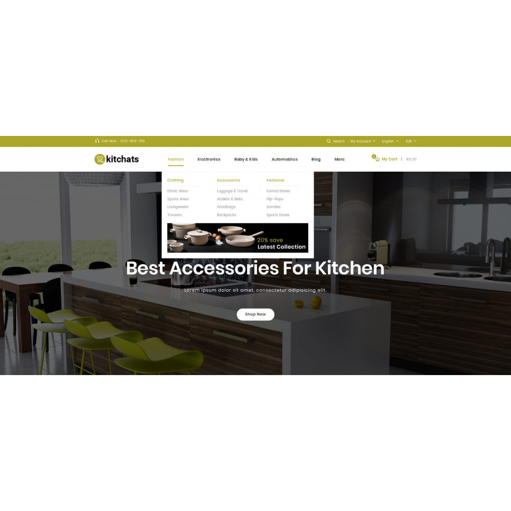 theme - Dom & Ogród - Kitchats - Kitchen Accessories Store - 6