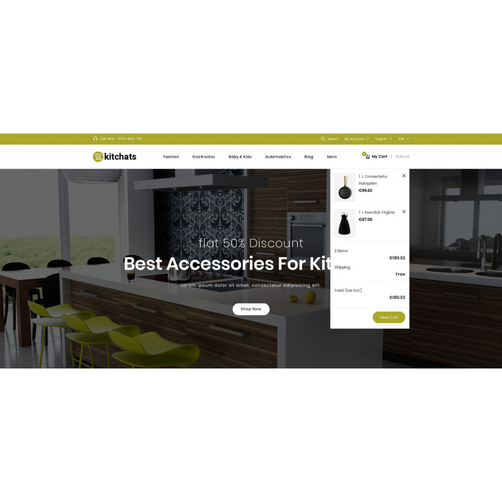 theme - Dom & Ogród - Kitchats - Kitchen Accessories Store - 7
