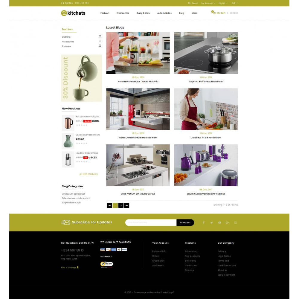 theme - Dom & Ogród - Kitchats - Kitchen Accessories Store - 9