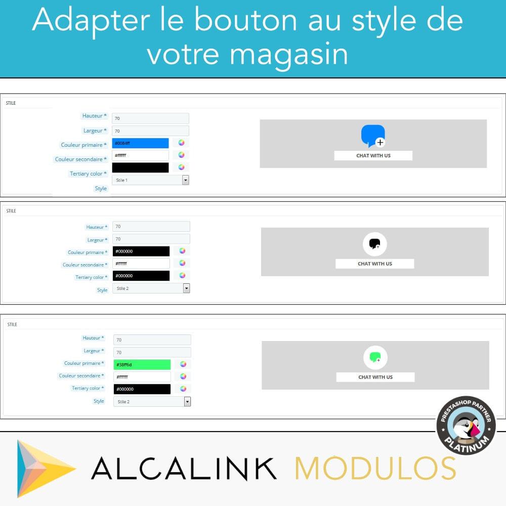module - Support & Chat Online - Bouton de chat - 3