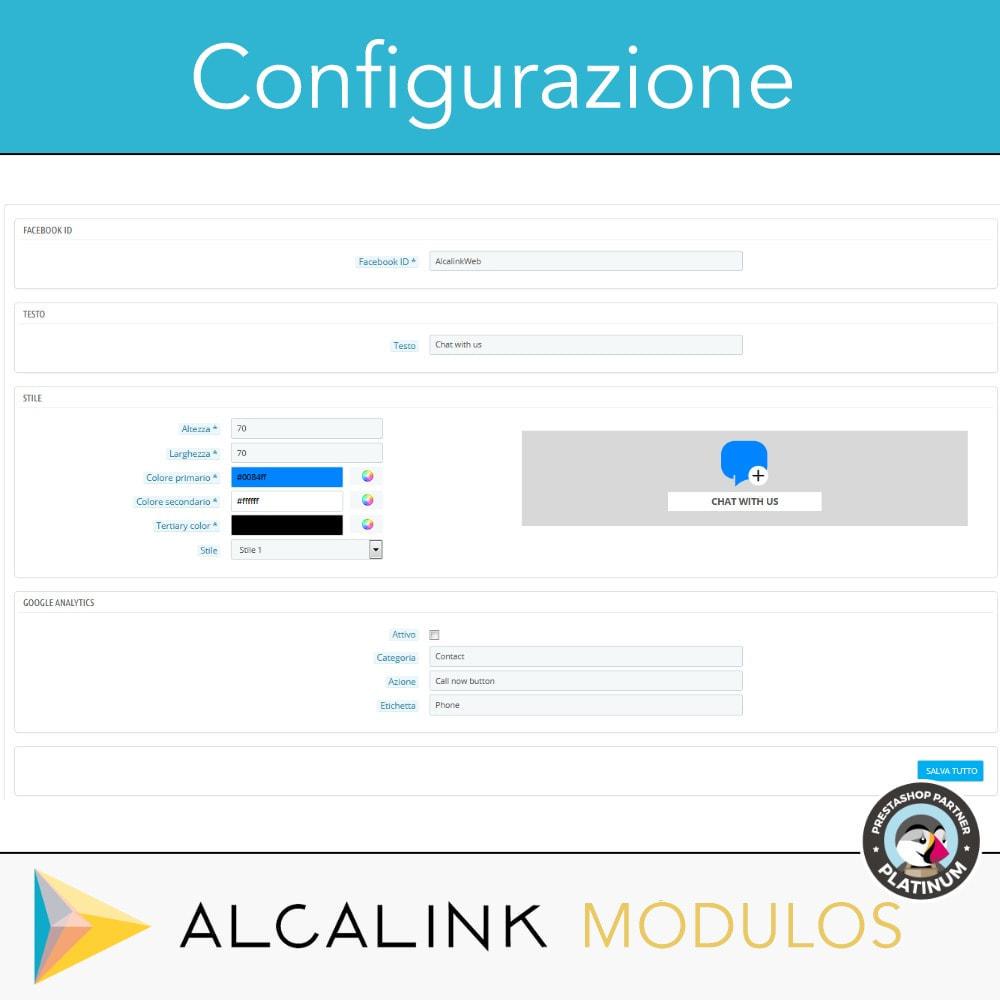 module - Supporto & Chat online - Pulsante di chat - 2