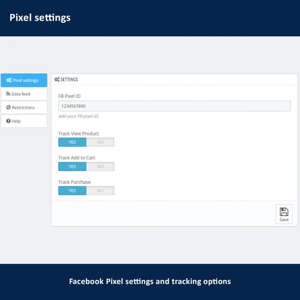 module - Importación y Exportación de datos - Pixel + Catalog and Remarketing Feed - 2