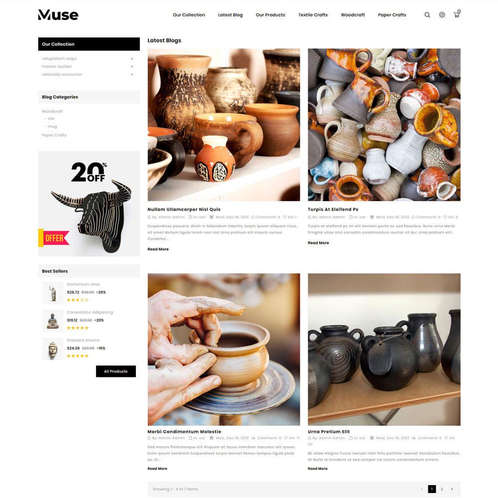 theme - Kunst & Kultur - Muse - The Art Shop - 8