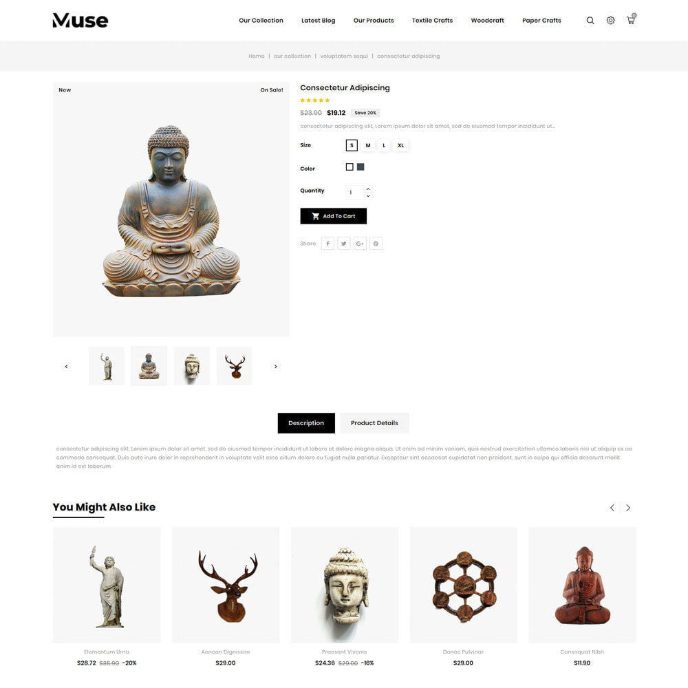 theme - Arte & Cultura - Muse - negozio d'arte - 8