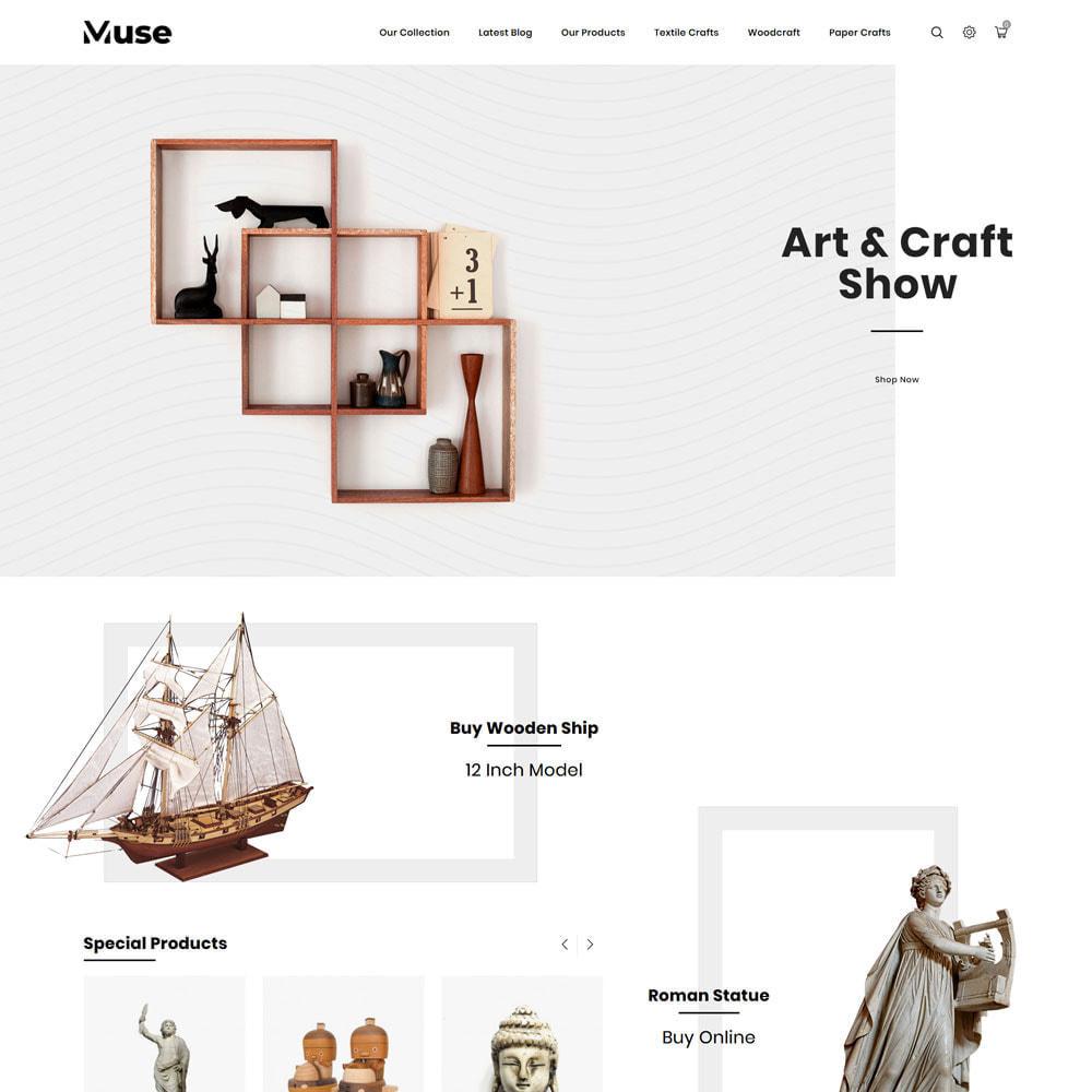 theme - Art & Culture - Muse - boutique d'art - 5