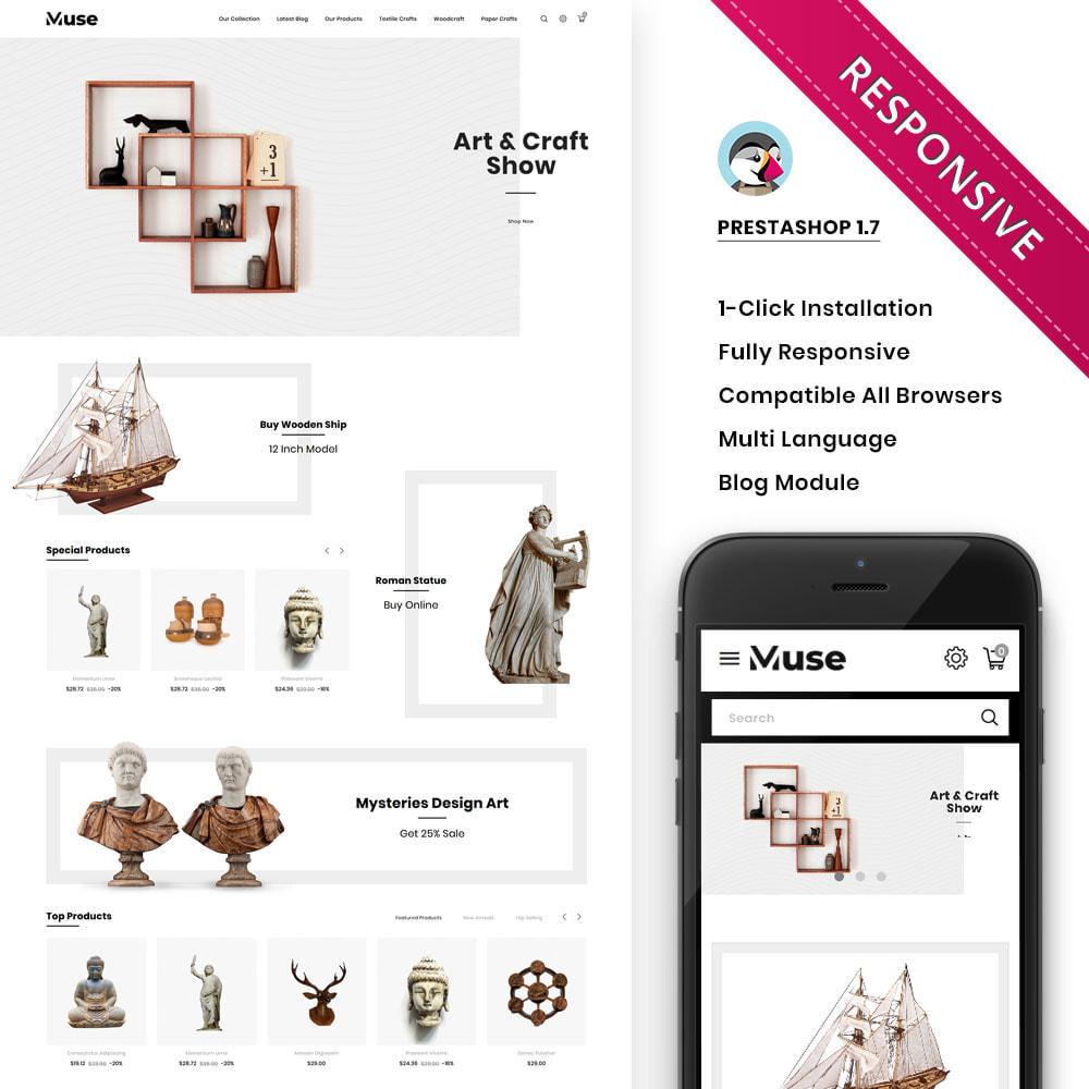 theme - Arte y Cultura - Muse - tienda de arte - 2