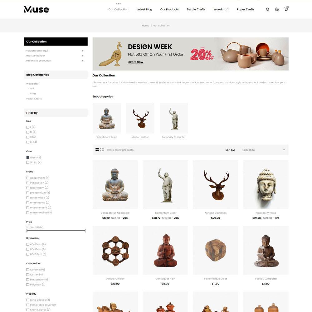 theme - Arte y Cultura - Muse - tienda de arte - 6