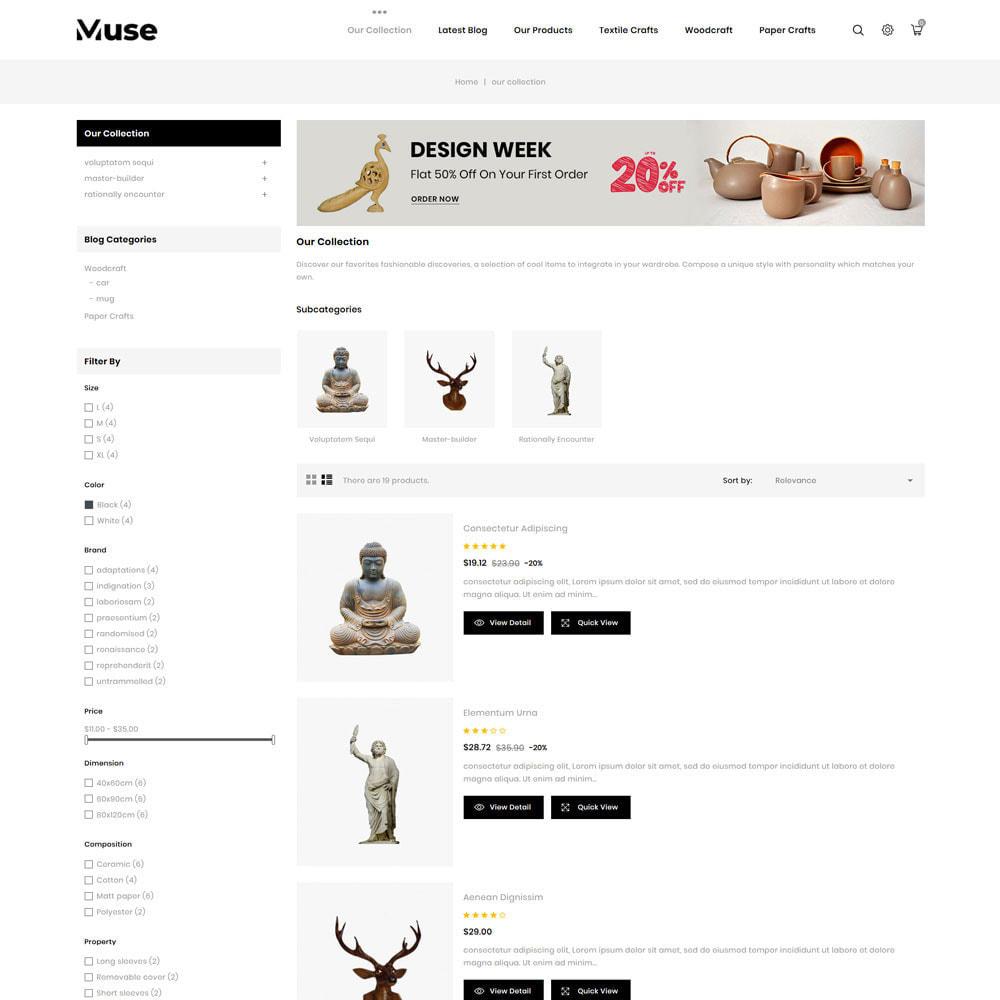 theme - Arte y Cultura - Muse - tienda de arte - 7