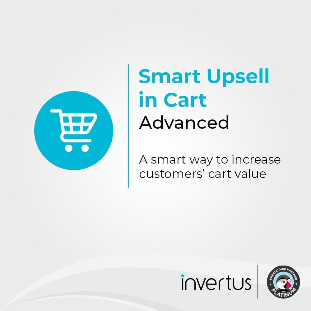 module - Ventas cruzadas y Packs de productos - Smart Upsell in Cart Advanced - Cross-sell/Upsell - 1