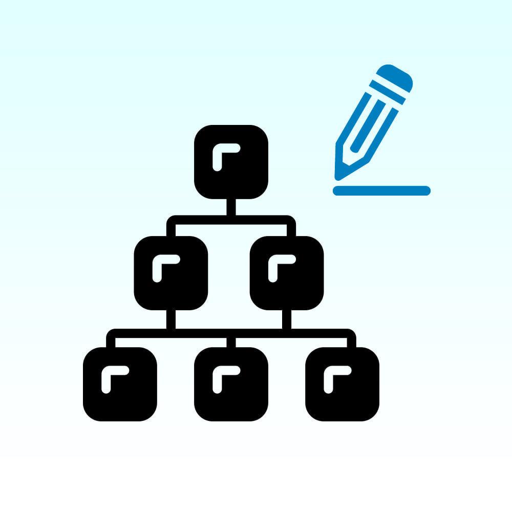 module - Snelle & seriematige bewerking - Quick Edit categories - 1