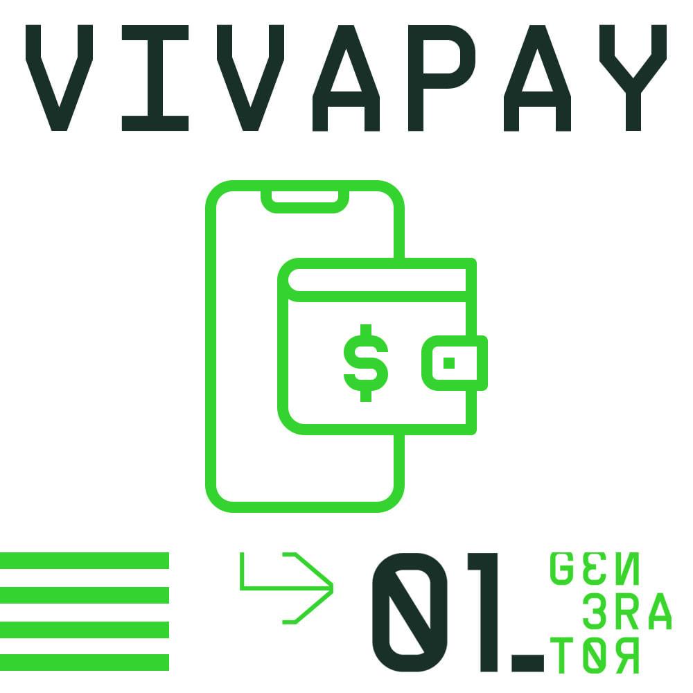 module - Zahlung per Kreditkarte oder Wallet - VivaPay - 1