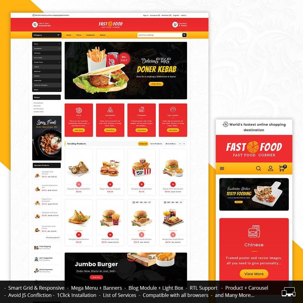 theme - Eten & Restaurant - Fast Food & Dinks Corner - 1