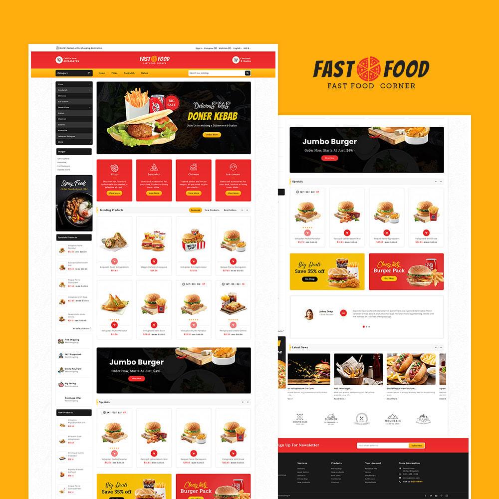 theme - Eten & Restaurant - Fast Food & Dinks Corner - 2