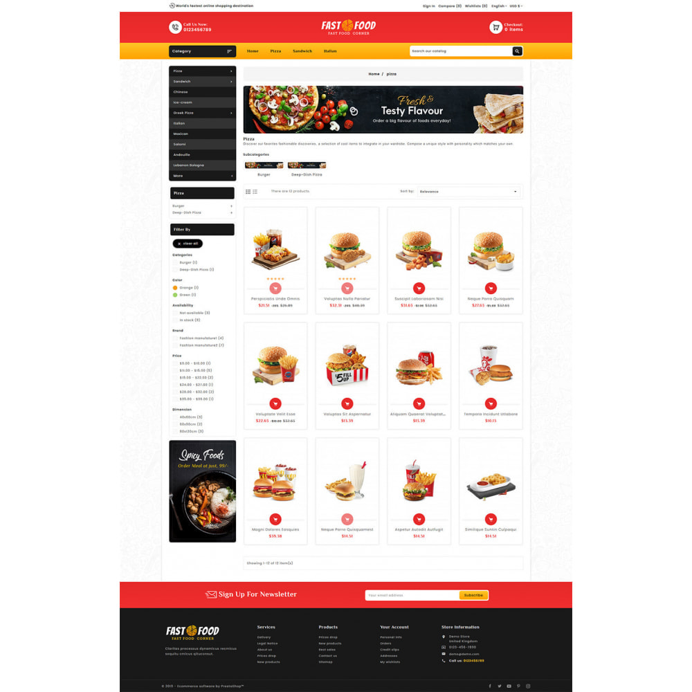 theme - Eten & Restaurant - Fast Food & Dinks Corner - 3