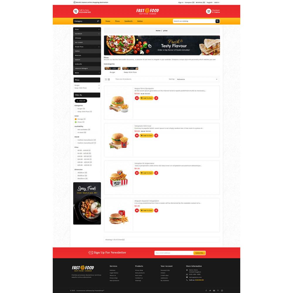 theme - Eten & Restaurant - Fast Food & Dinks Corner - 4
