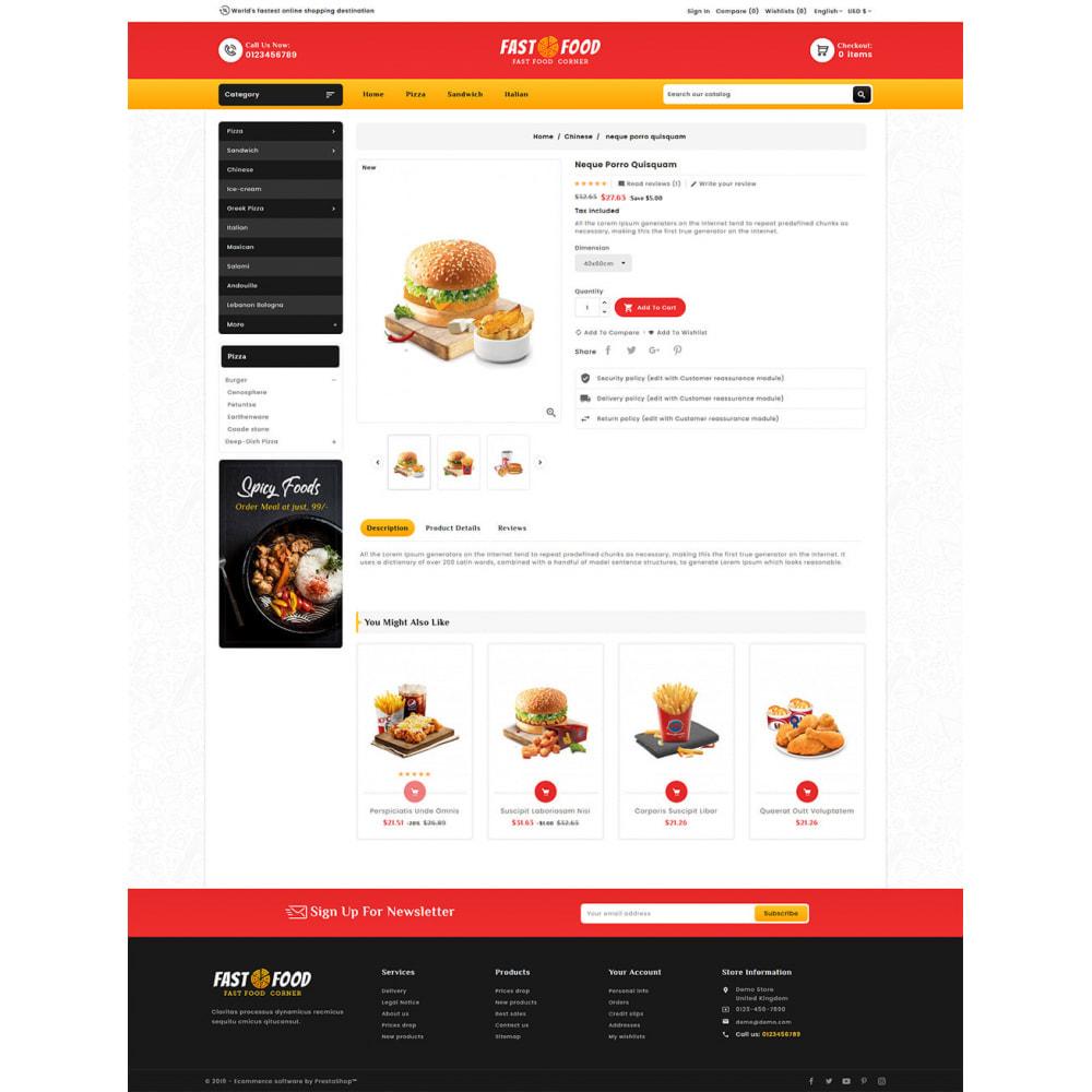 theme - Eten & Restaurant - Fast Food & Dinks Corner - 5
