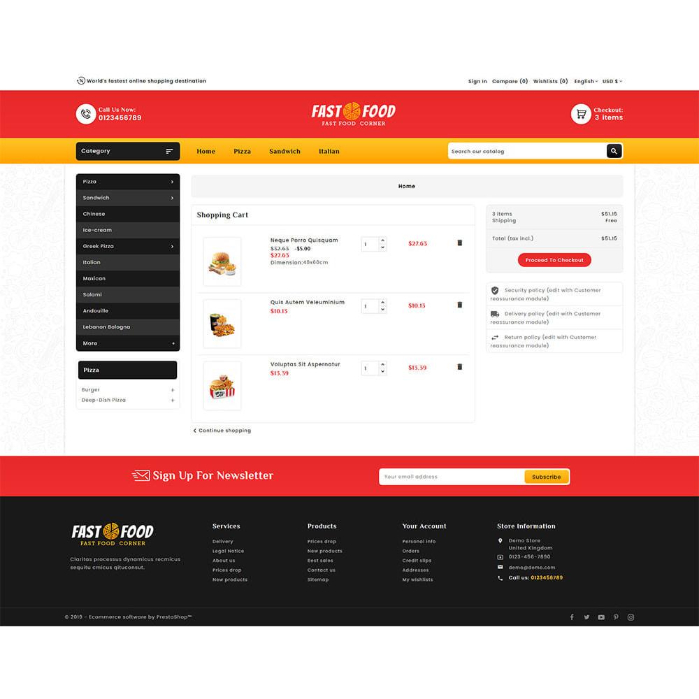 theme - Eten & Restaurant - Fast Food & Dinks Corner - 6