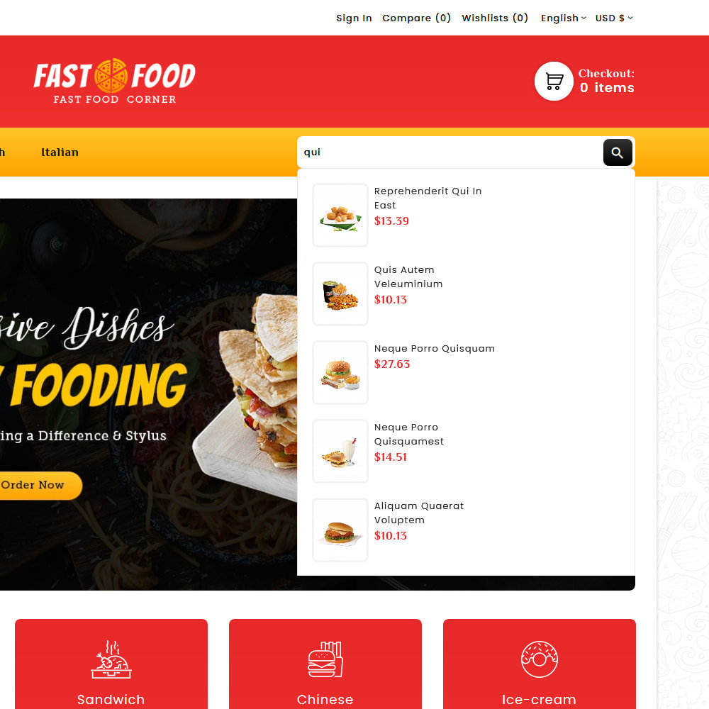 theme - Eten & Restaurant - Fast Food & Dinks Corner - 10