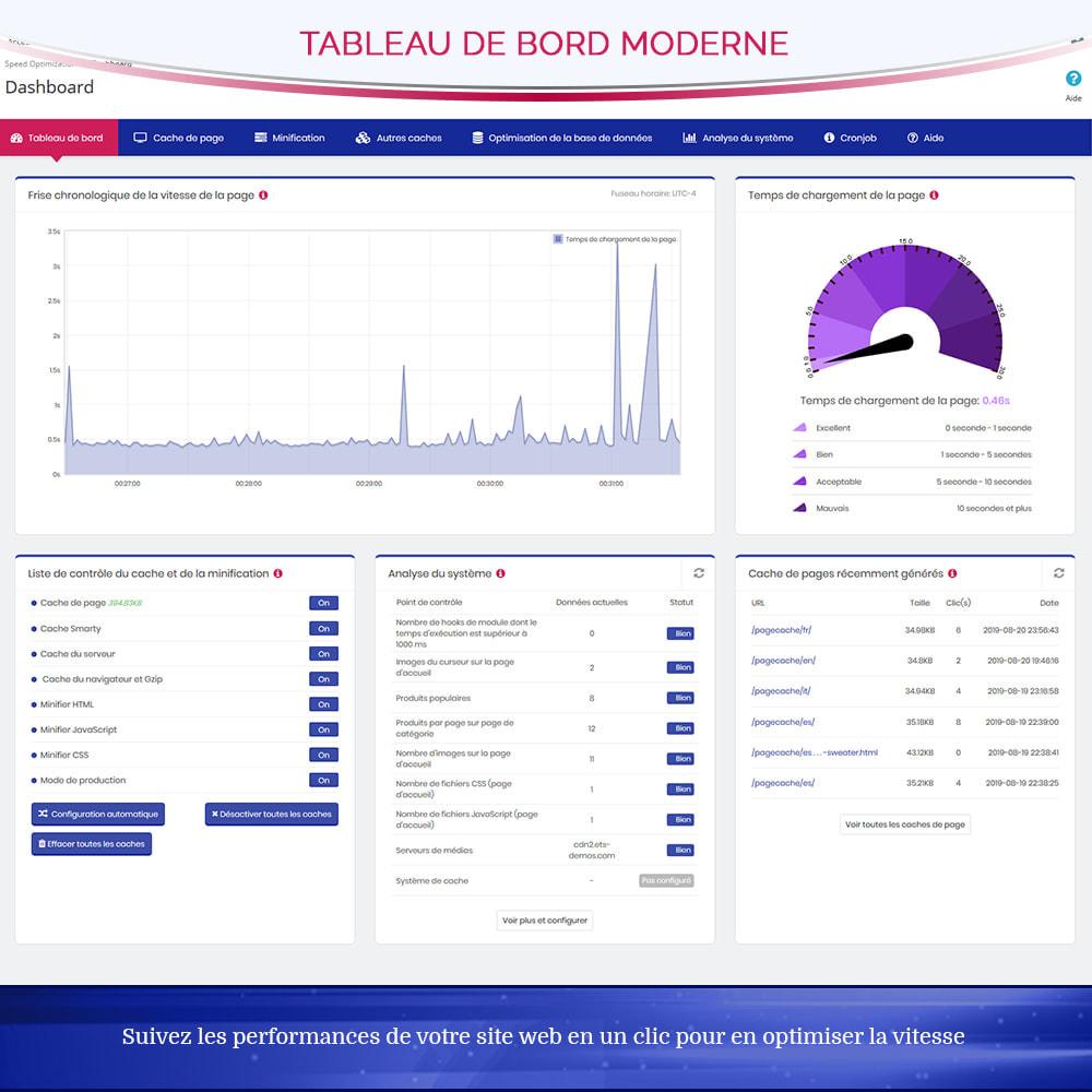 module - Performance du Site - Page Cache Pro - Optimisation de la vitesse et SEO - 5