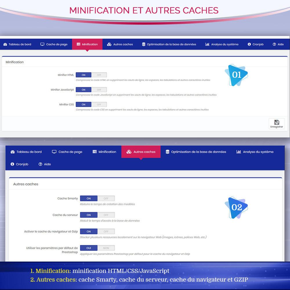 module - Performance du Site - Page Cache Pro - Optimisation de la vitesse et SEO - 7