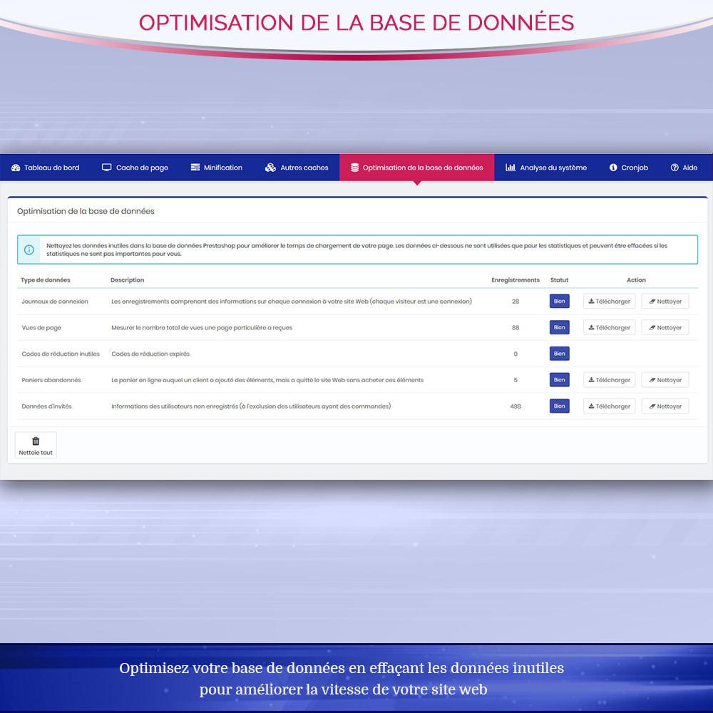 module - Performance du Site - Page Cache Pro - Optimisation de la vitesse et SEO - 8