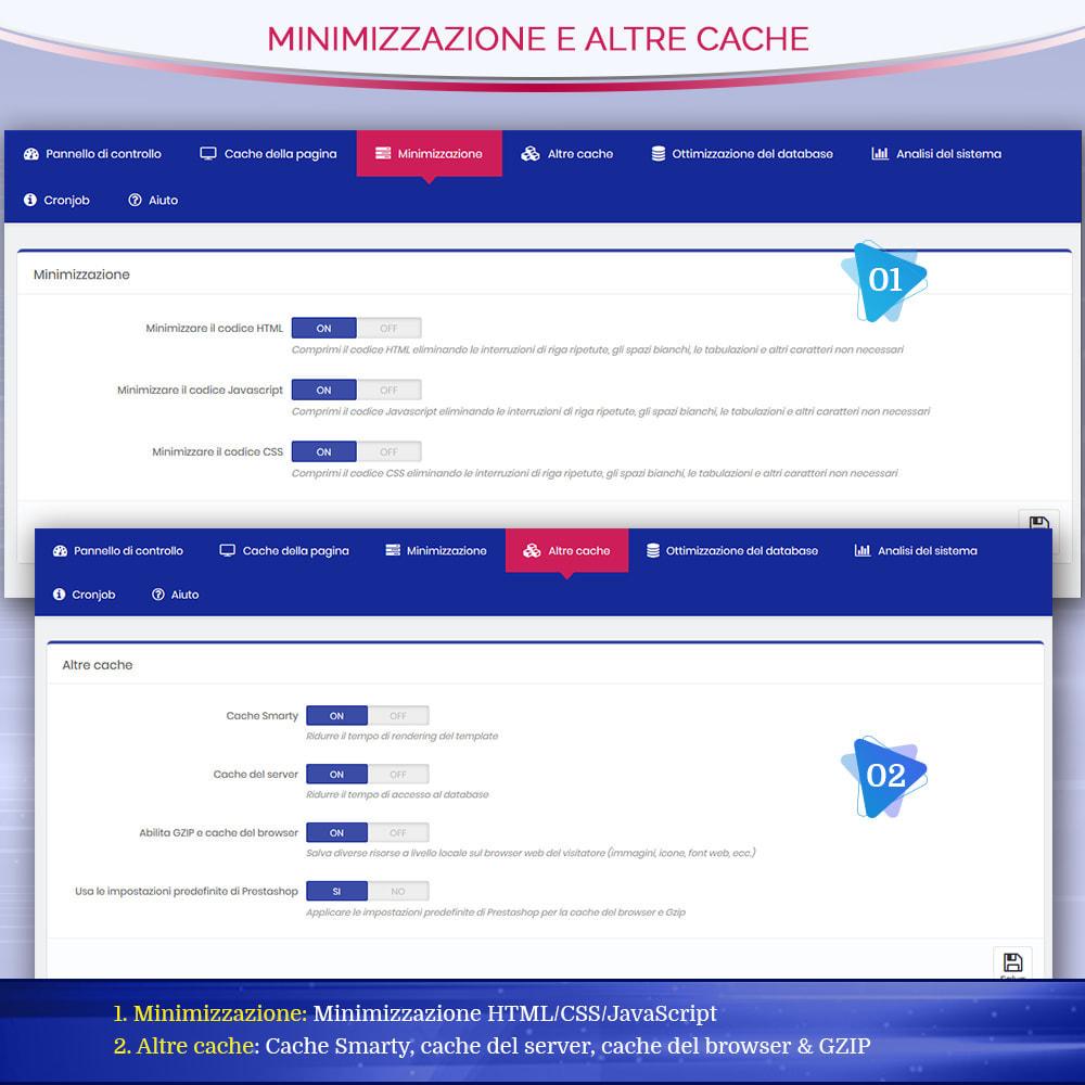 module - Website Performance - Page Cache Pro - Ottimizzazione della velocità e SEO - 7