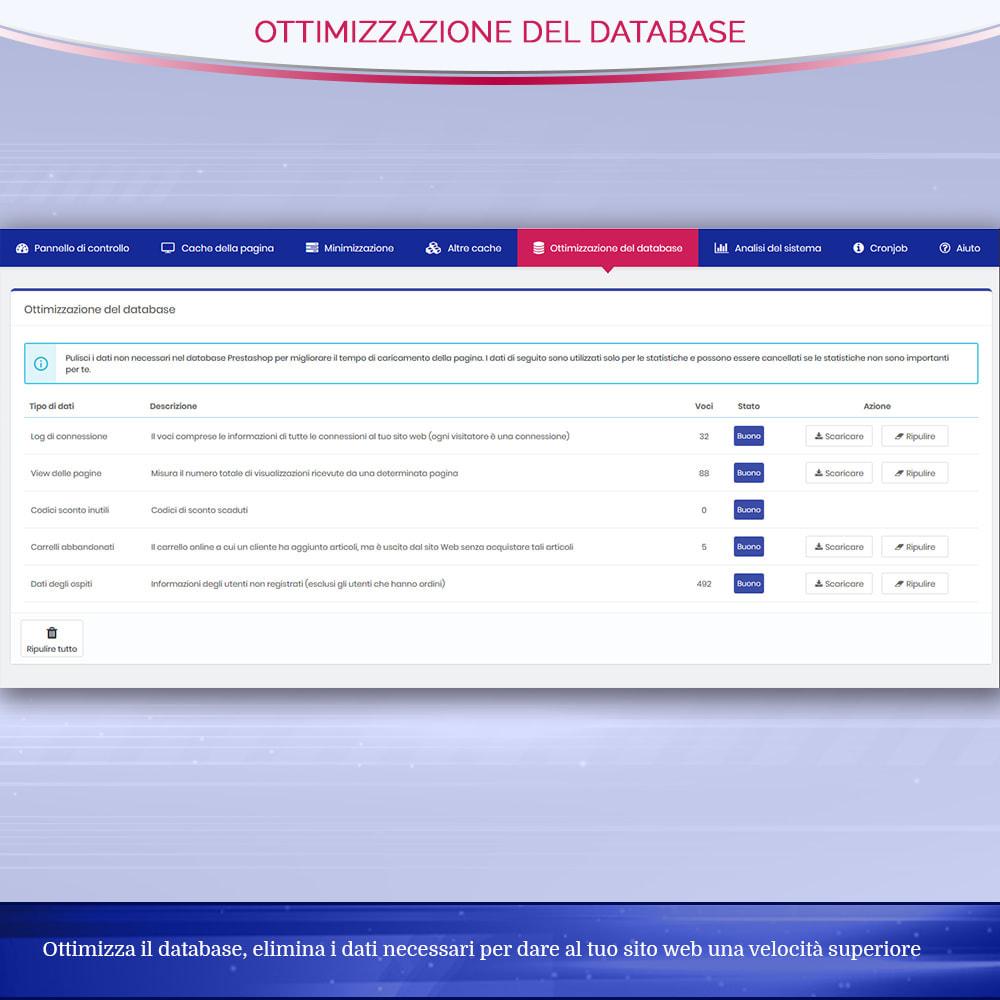 module - Website Performance - Page Cache Pro - Ottimizzazione della velocità e SEO - 8