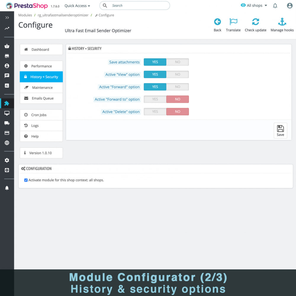 module - Notifications & Automatic Emails - Ultra Fast Email Sender Optimizer - 4