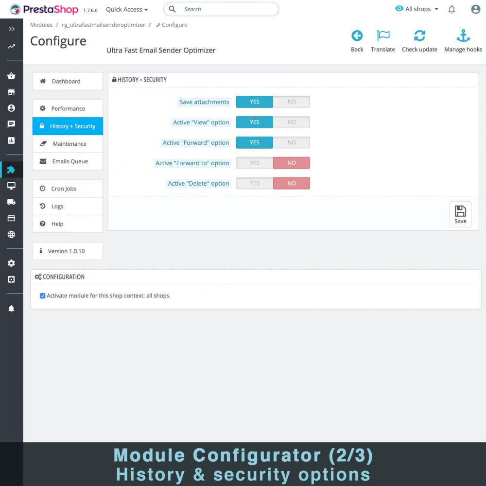 module - E-mails y Notificaciones - Optimizador Ultra Rápido de Envío de Correos - 4