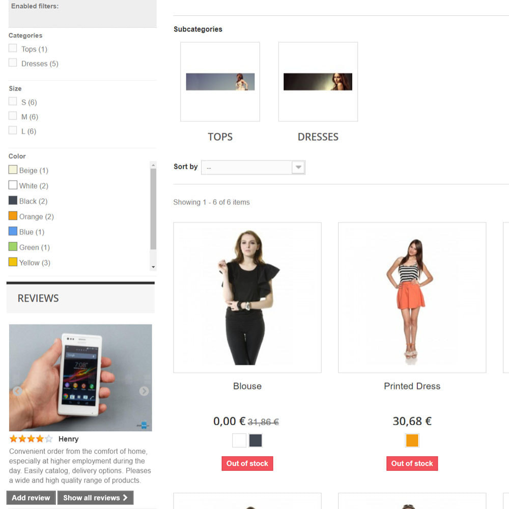 module - Recensioni clienti - Reviews about your store / product - 6