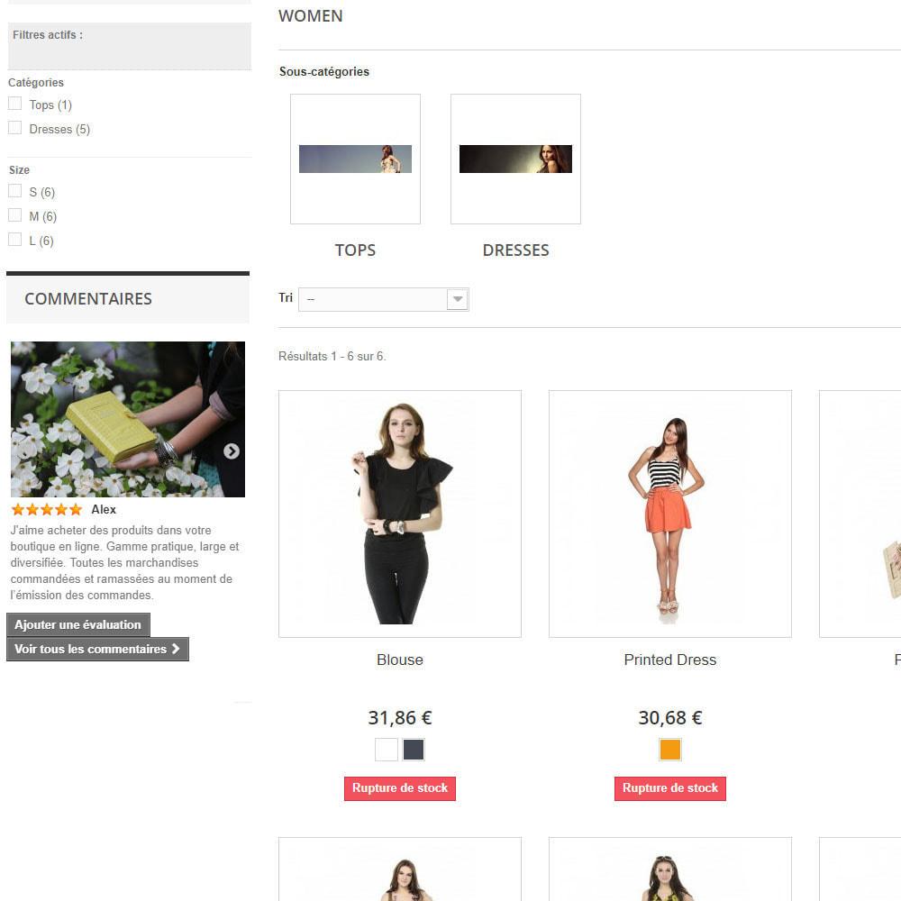module - Avis clients - Avis sur votre shop / produit - 6