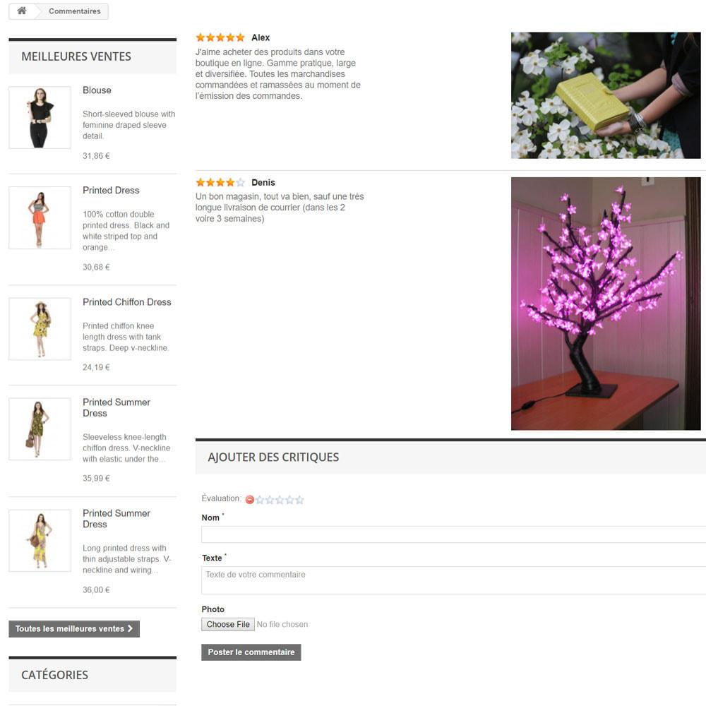 module - Avis clients - Avis sur votre shop / produit - 8