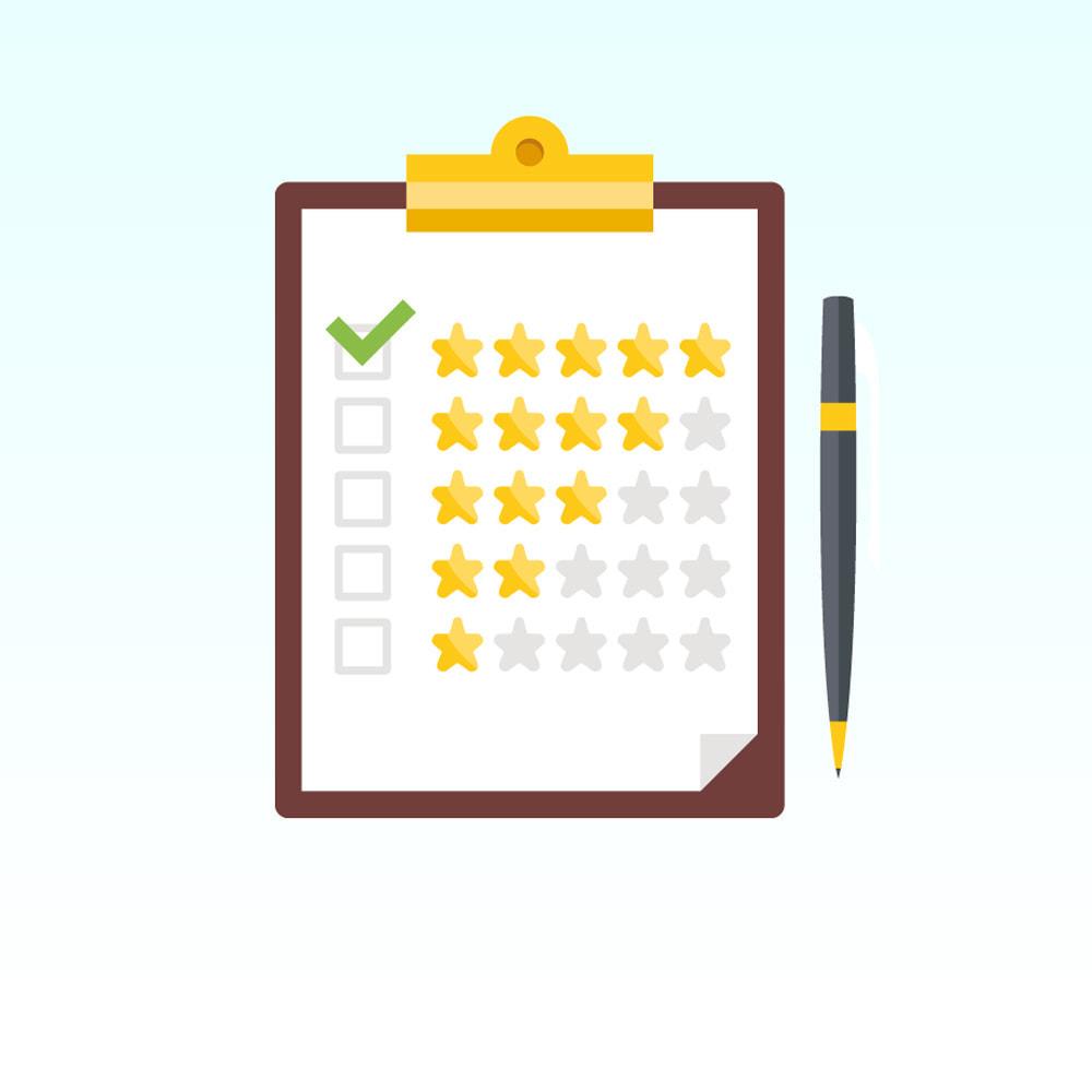 module - Comentarios de clientes - Comentarios sobre su tienda / producto - 1