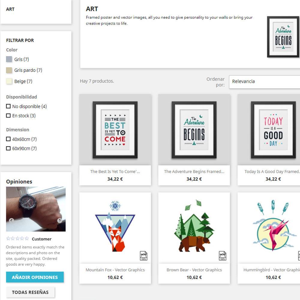 module - Comentarios de clientes - Comentarios sobre su tienda / producto - 3