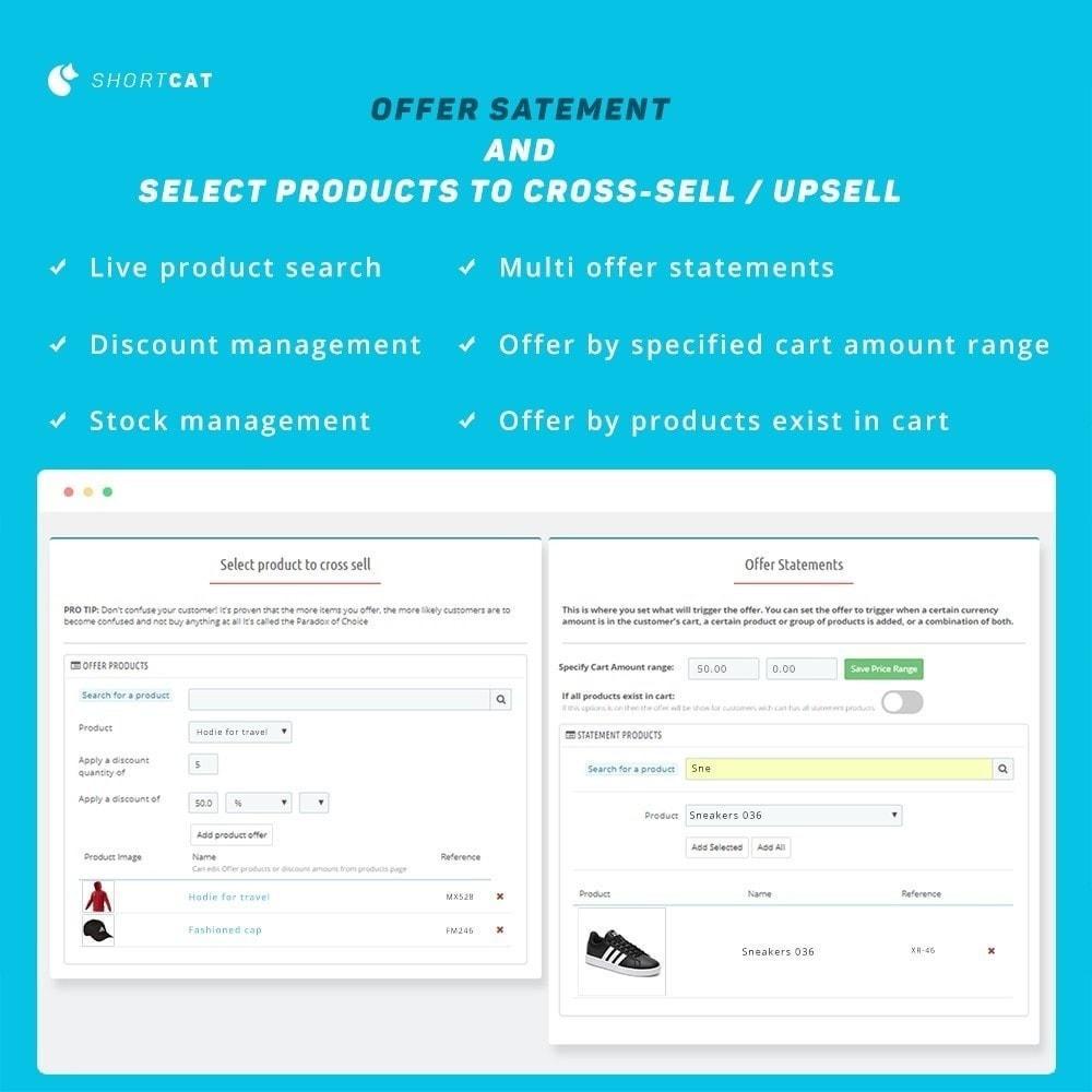module - Перекрестные продажи и Создание комплектов - Cross Sale Advanced: Countdown, Target Recommendations - 3