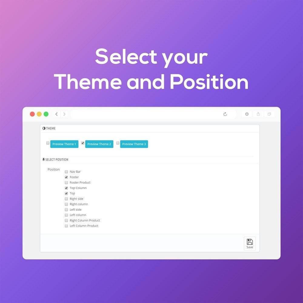 module - Виджеты для социальных сетей - Smart Social Media Buttons (Icons), Multi-themes - 4